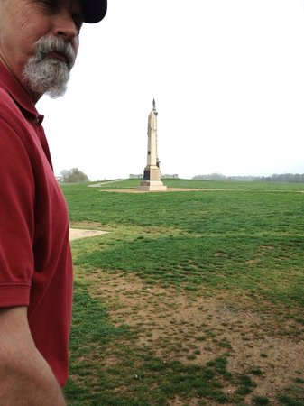 Sharpsburg, MD: Bob Murphy at Antietam